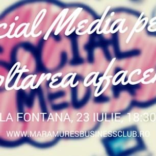 eveniment social media pentru dezvoltarea afacerii tale