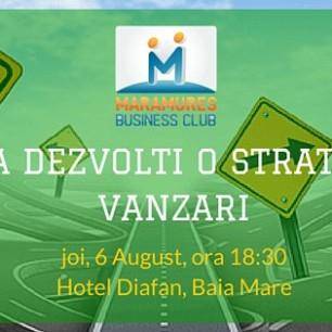 curs maramures business club strategie de vanzari