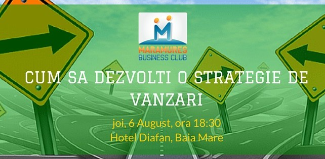 curs maramures business club strategie de vanzari