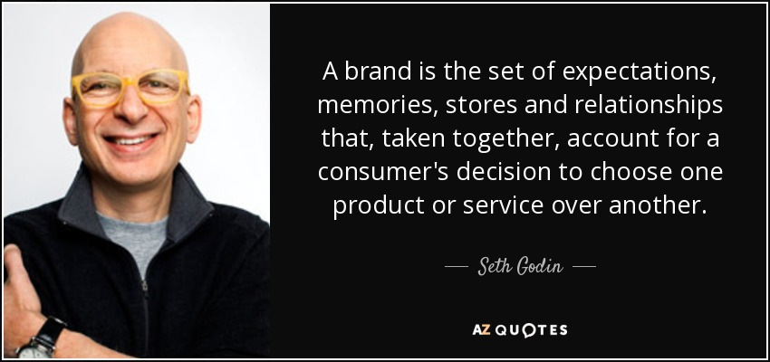 seth godin branding