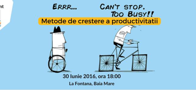 curs metode de crestere a productivitatii