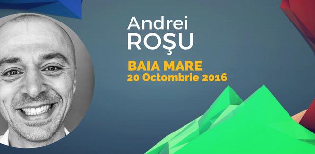 Andrei Rosu vine la Baia Mare