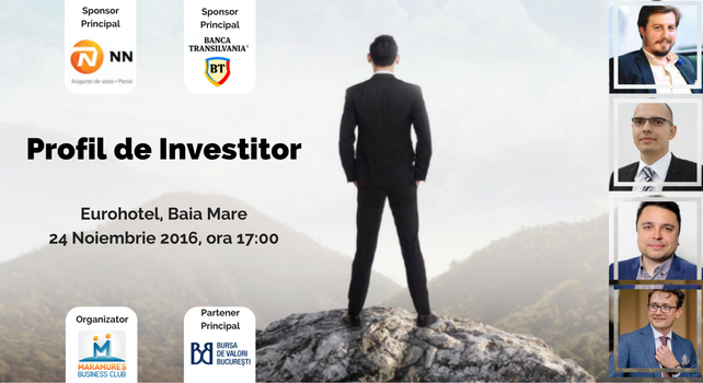 Cover eveniment Profil de investitor Baia Mare