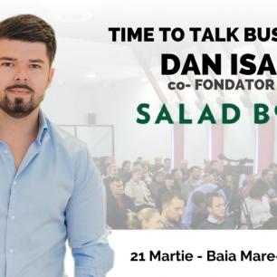 Dan Isai, SaladBox la Baia Mare
